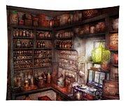 Pharmacy - Equipment - Merlin's Study Tapestry