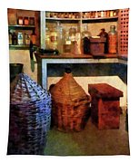 Pharmacy - Medicine Bottles And Baskets Tapestry