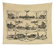 Philadelphia By James Fuller Queen Tapestry