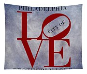 Philadelphia City Of Brotherly Love  Tapestry