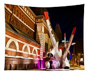 Philadelphia Crash Landing Tapestry