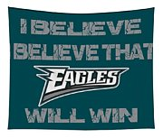 Philadelphia Eagles I Believe Tapestry