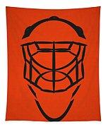 Philadelphia Flyers Goalie Mask Tapestry