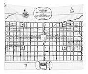 Philadelphia: Map, 1683 Tapestry