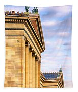 Philadelphia Museum Of Art Facade Tapestry