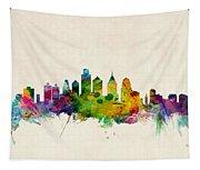 Philadelphia Skyline Tapestry