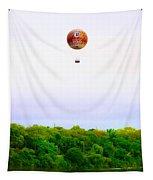 Philadelphia Zoo Balloon Over The Schuylkill River Tapestry
