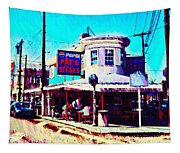 Philadelphia's Pat's Steaks Tapestry