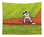 Phillies First Baseman Tapestry