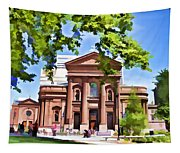 Philly Church View Tapestry