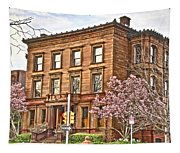 Philly Fairmount View Two Tapestry