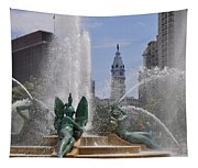 Philly Fountain Tapestry