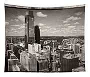 Philly In The Clouds Tapestry