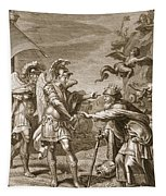 Phineus Is Delivered From The Harpies Tapestry