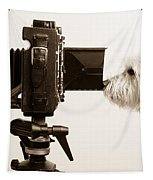 Pho Dog Grapher Tapestry by Edward Fielding