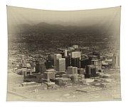 Phoenix Az Downtown 2014 Heirloom Tapestry