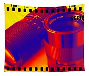 Photographic Lenses Tapestry