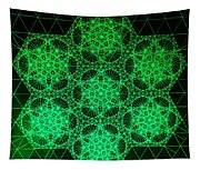 Photon Interference Fractal Tapestry