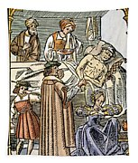 Physician & Plague Victim Tapestry
