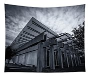Piano Pavilion Bw Tapestry