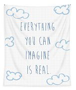 Picasso Quote Tapestry