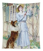 Picking Roses Tapestry
