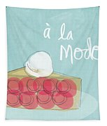 Pie A La Mode Tapestry by Linda Woods