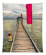 Pier Flags Tapestry