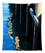 Pier Reflection Tapestry