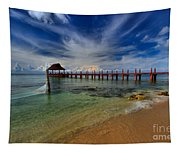 Pier To Paradise Tapestry