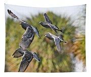 Pigeon Brigade Tapestry