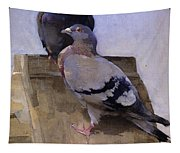 Pigeons On The Roof Tapestry