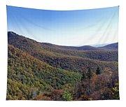 Pilot Mountain Near Balsam Grove Tapestry