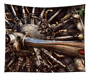 Pilot - Plane - Engines At The Ready  Tapestry