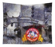 Pin Traders Downtown Disneyland Photo Art Tapestry