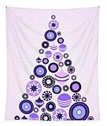 Pine Tree Ornaments - Purple Tapestry