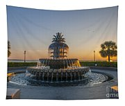 Magical Fountain Tapestry