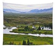 Pingvellir National Park Tapestry