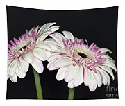 Pink And White Gerbera 2 Tapestry