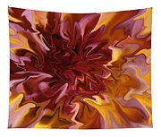 Pink And Yellow Fantasy 1 Tapestry