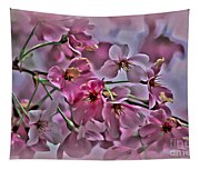 Pink Blossoms - Paint Tapestry