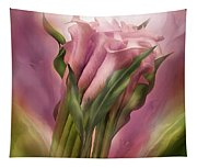 Pink Callas Tapestry