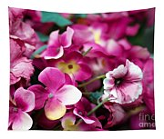 Pink Canvas Flora Tapestry