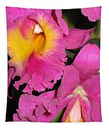 Pink Cattleya Orchid Tapestry
