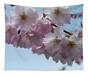 Pink Cherry Blossom Tapestry