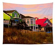 Pink Clouds At Isle Of Palms Tapestry