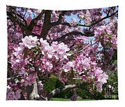 Pink Crabapple Tapestry