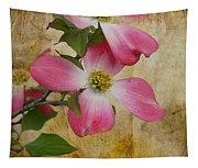 Pink Dogwood Bloom Tapestry