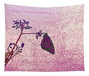 Pink Monarch Tapestry