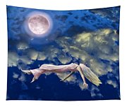 Pink Moon Tapestry